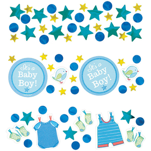 Deko-Konfetti Baby Shower Boy 34gr | Dodax.at