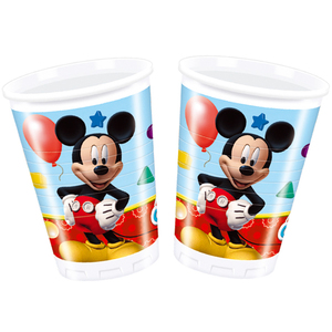 8 Becher Mickey Mouse 200ml | Dodax.at