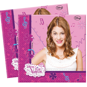 20 Papierservietten Violetta | Dodax.at