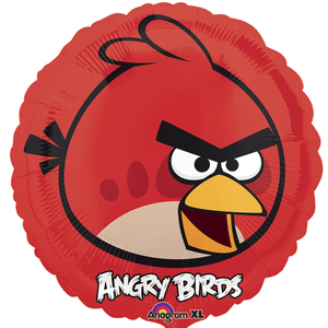 Image of FB Angry Birds rot rund 45cm