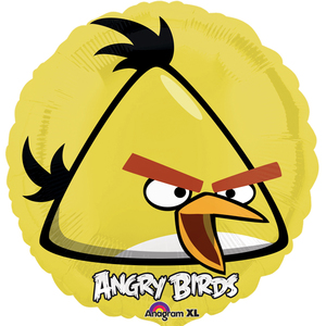 Image of FB Angry Birds gelb rund 45cm