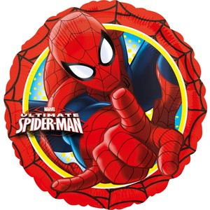 Folienb. Spiderman rund 45cm | Dodax.de