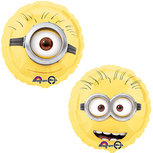 Folienballon Minion rund 45cm | Dodax.at