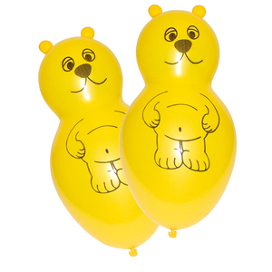 4 Figurenballone Teddy | Dodax.at