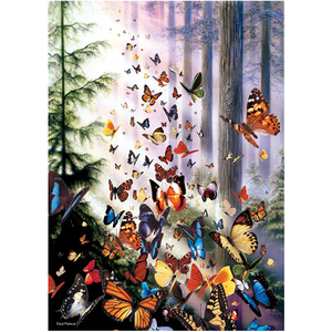 Image of 3D Magnet Butterfly Woods