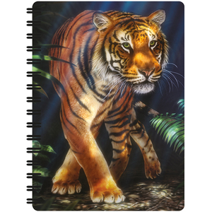 Spiral Notebook A6 - 3D Out of the Jungle | Dodax.es