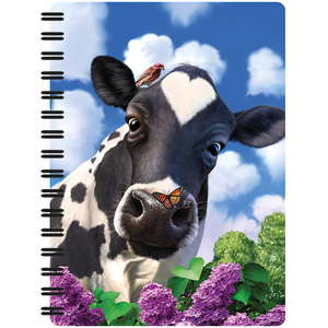 3D Spiralheft A6 Curious Cow | Dodax.nl