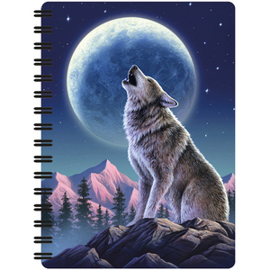 Spiral notebook A6 - 3D Moonlight Sonata | Dodax.es
