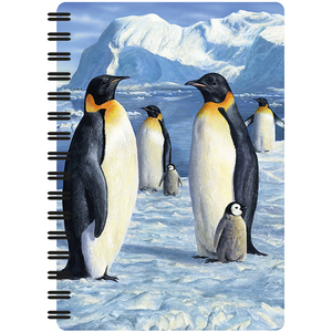 Notebook A5 - 3D Antarctic Majesty | Dodax.it