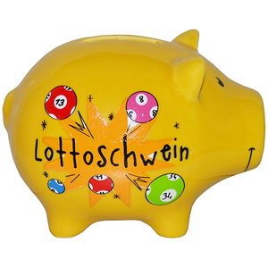 Sparsäuli Lottoschwein 12cm | Dodax.co.uk