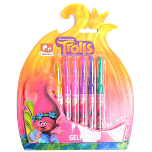 Trolls Gel Stifte 6er-Pack | Dodax.at