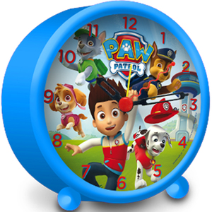 Paw Patrol Alarm Clock blue (PW-16022) | Dodax.co.uk