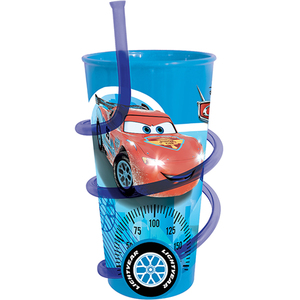 Image of Cars Becher mit Trinkhalm
