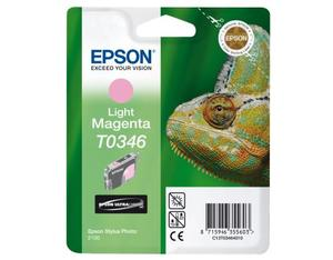 Epson Singlepack Light Magenta T0346 Ultra Chrome | Dodax.co.uk
