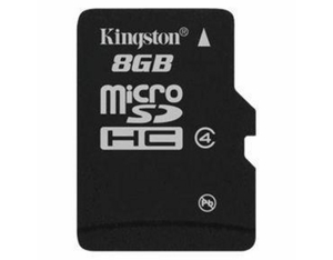 microSDHC Card 8GB, Kingston, ohne SD Adap. | Dodax.at