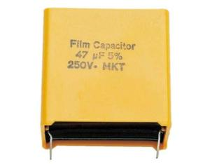 Visaton MKT 3.3µF Fixed  capacitor Planar DC Yellow capacitor | Dodax.co.uk