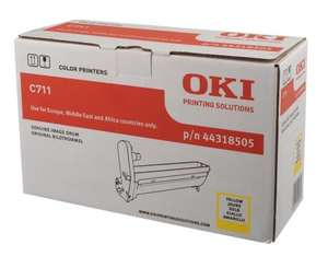 OKI 44318505 20000pages Yellow drum | Dodax.co.uk