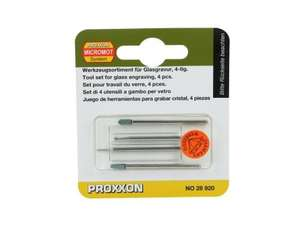 Proxxon Glasbearbeitungs-Set, 4-teilig | Dodax.at