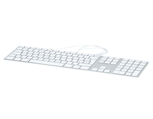 Apple - Keyboard FR White (MB110F/A) | Dodax.ch
