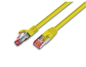 Triotronik S/FTP CAT6 1.5m 1.5m Yellow networking cable | Dodax.co.uk