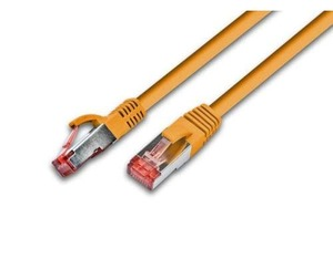 Triotronik - S/FTP High Quality CAT6 0.5m (PKW-PIMF-KAT6 0.5 OR) | Dodax.ch