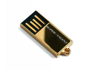 Super Talent Technology - USB Flash Drive Pico C 64GB, USB 2.0 Gold  (STU64GPCG) | Dodax.ch