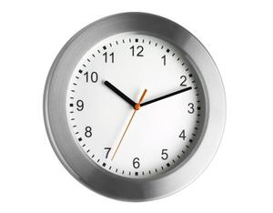 TFA - Wall Clock Aluminium Glass (98.1046) | Dodax.pl