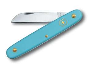 Victorinox Blumenmesser hellblau, 55mm | Dodax.co.uk