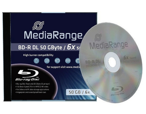 Mediarange BD-R 6x Dual Layer 50GB 1 Stk. | Dodax.at