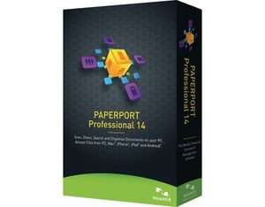 Nuance - PaperPort Professional 14 (Full Box) | Dodax.co.uk