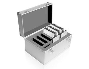 "ICY BOX 3.5"" & 2.5"" Alu-HDD Koffer 
