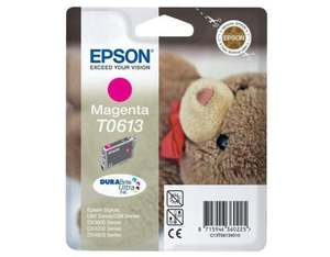 Epson Singlepack Magenta T0613 DURABrite Ultra Ink | Dodax.co.uk