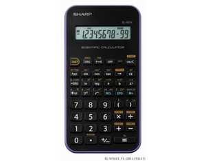 Sharp EL501XBVL calculator | Dodax.co.uk
