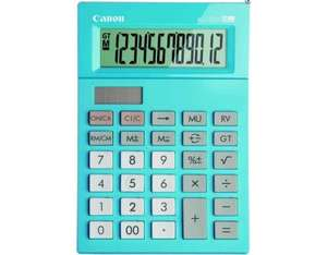 Canon AS-120V Desktop Basic calculator Blue | Dodax.co.uk
