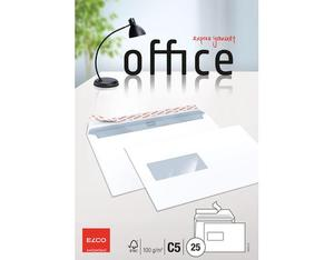 Elco - Envelope Office C5, Bright White, Peel and Seal Flap, 25 pcs (74473.12) | Dodax.fr