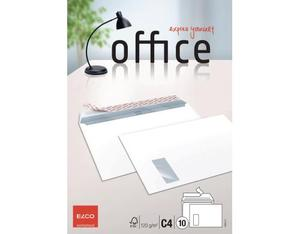 Elco - Envelope Office C4, Bright White, Peel and Seal Flap, 10 pcs (74493.12) | Dodax.co.jp