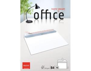 Elco - Envelope Office B4, Bright White, Peel and Seal Flap, 10 pcs (74494.12) | Dodax.fr