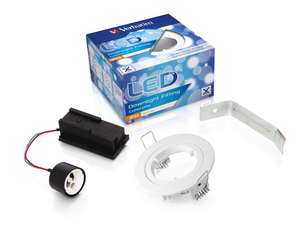 Verbatim LED Down light, IP44, weiss | Dodax.ch