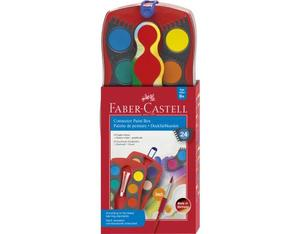 FABER-CASTELL Connector Farbkasten 24er | Dodax.at