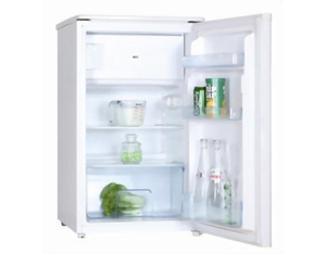 Kibernetik - Combi-fridge  A++ Freestanding White Right (KS104L) | Dodax.ch
