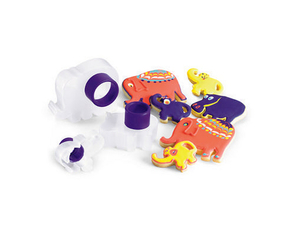 Cuisipro - Zoo Animal Snap-Fit Cookie Cutter Set, 3 pcs (74-713026) | Dodax.at