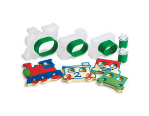 Cuisipro - Train Set Snap-Fit Cookie Cutter Set, 5 pcs (74-713204) | Dodax.at