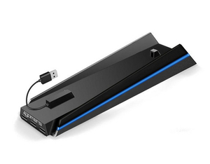 PS4 Vertical Stand + USB Hub | Dodax.ch