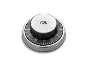 ADE - Mechanical Kitchen Timer 59 min Black (TD 1304) | Dodax.at