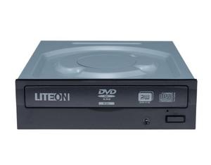 Lite-On iHAS324 Internal DVD Super Multi DL Silver optical disc drive | Dodax.com
