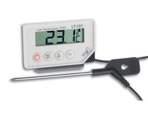 TFA - Digital Probe Thermometer Digital Rectangular CR2032 (30.1033) | Dodax.ch