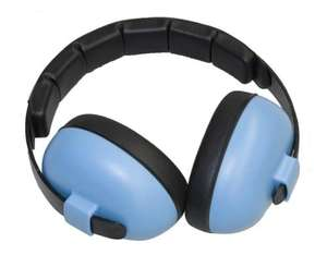 Baby Banz - Ear Defender, Signal-to-Noise Ratio: 26 dB, Blue (GBB008) | Dodax.ch