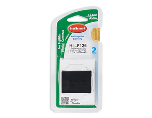 Hahnel HL-F126 Lithium-Ion (Li-Ion) 1070mAh 7.2V rechargeable battery | Dodax.com