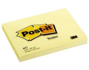 3M Post-it,Haftnotizen, gelb | Dodax.ch