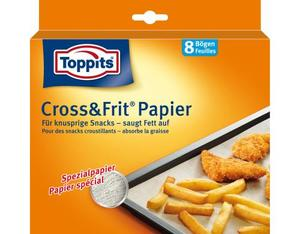Toppits Cross&Frit Papier | Dodax.at